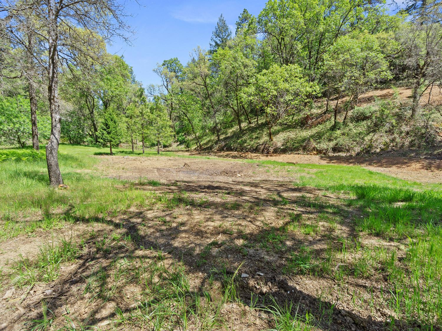 3.05 Acres in the city of Placerville! Large, level area to build the home of your dreams. EID water meter paid, electrical, and mostly fenced. Only needs septic. Good orientation for solar. No HOA. Restaurants, shopping, medical, biking, hiking, wineries, Apple Hill, and schools all just minutes away.