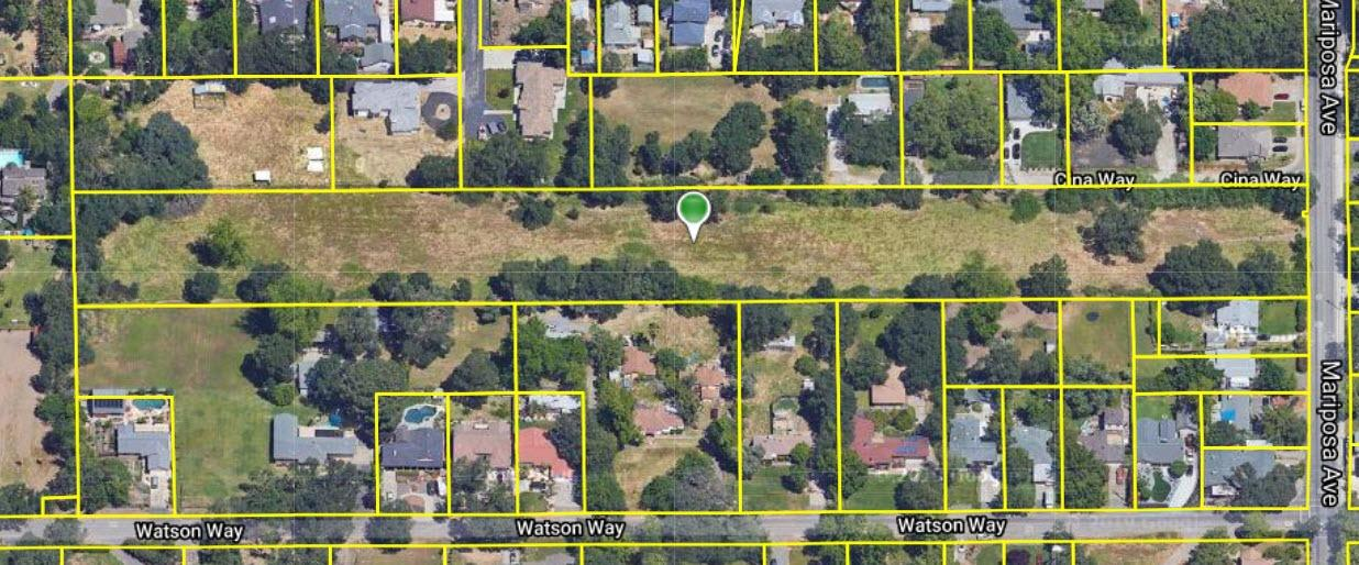 Perfect opportunity for a developer! 4.79 Acres zoned RD-3, which allows for a potential 14 Lot Subdivision according to City of Citrus Heights Planning Department.  All utilities are at the site.  There used to be an old single family home on the property that was demolished.