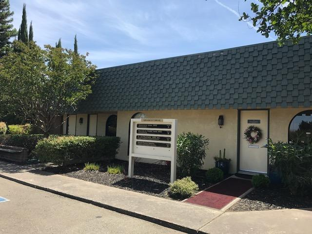 6,079 s.f. medical/professional office bldg on 0.60 acres; Great for Owner-User. 5 tenant building with 2 suites, D & E available now.   Ste E (1,421 s.f.)is  Medical/Professional office with open area, 3 offices & reception; Suite D (1,386 s.f.) is a dental suite with 5 operatories. Abundant parking 7/1,000 s.f. Dental office building with common vacuum system. Owner-user Buyer can potentially occupy approx. 3,900 sf and keep tenants in suites A and B for rental income.