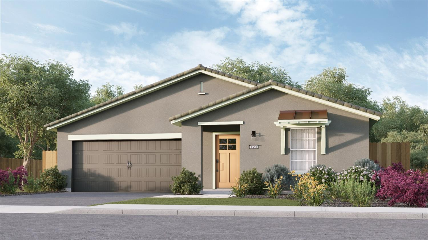 Enjoy a charming single-story home with four bedrooms and three baths. The focal point of this home