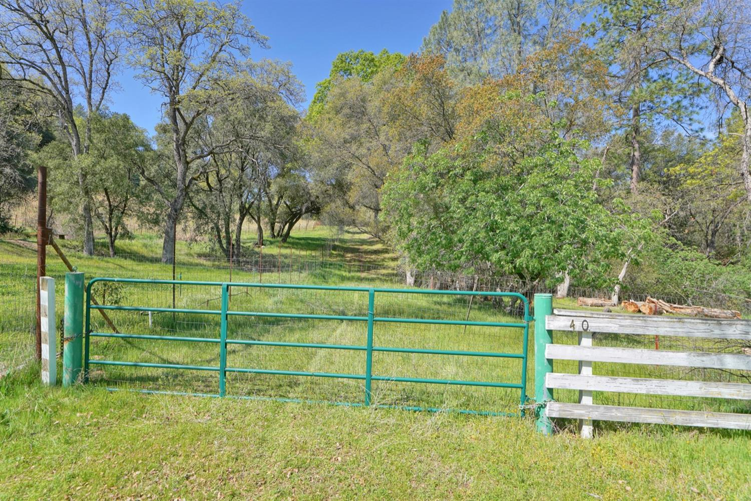This is a beautiful 45 acre parcel in the heart of the Somerset wine country with award winning wineries close by.  There are lovely long range views of the Sierra range and some wonderful building sites. Interested in a vineyard? equestrian set-up? or your dream home - this is it. The property dead ends off Omo Ranch Road.  As the vegetation dries and the risk of fire increases, please avoid driving beyond the gate. Thank you.