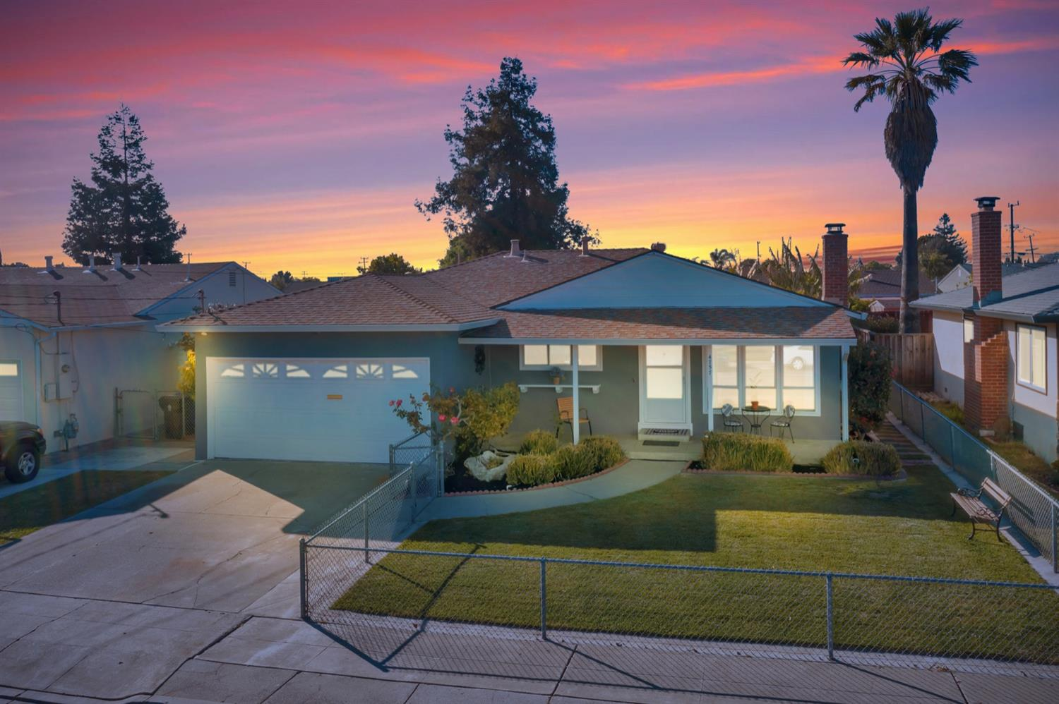 Location, Location Location!!!  Wonderful Single-Story 3 Bedrooms / 2 Bathrooms, 1,154 SqFt Home Is Located On Large 6,590 SqFt Lot In The Highly Sought After Cabrillo Area in Fremont. Excellent Layout With Lots Of Natural Light. It Has a Flowing Floor Plan & Many Upgrades Including Newly Remodeled Baths, New Interior Paint, Updated Kitchen with Granite Counter Tops, Gas Stove, SS Appliances & Recessed Lights,This Property Also Features Central HVAC, Hard Wood Flooring. Bonus Room Addition with a Bathroom & Independent Entrance, Could be used as Office or ExtraBedroom. Nice Front Yard & Spacious Backyard, Perfect For Relaxing, Family Gathering and Entertaining, Multiple Mature Fruit Trees. Excellent Location Near Major Commute Routes, 880/8
