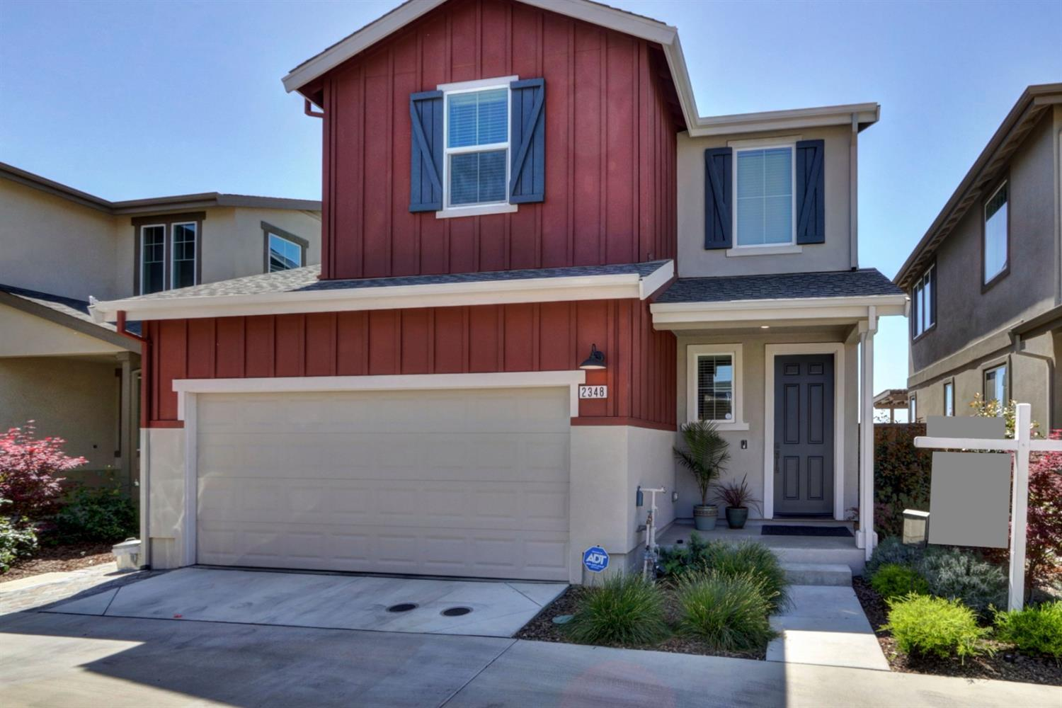 This beautiful 3 bedroom 3 bath home by award winning builder Signature Homes will not last. Absolutely gorgeous. Seller spared no expense to fully UPGRADE EVERYTHING when he purchased the home including fabulous kitchen cabinets.  Fresh paint throughout in beautiful neutral colors -- not just boring white! Stunning waterproof laminate everywhere except bedrooms.  GIANT kitchen island, gorgeous upgraded carpet and pad, stainless steel appliances, and energy saving smart vents. You'll enjoy ALL CUSTOM BLINDS. Your ADT is fully set up and ready to assume. Laundry is conveniently upstairs!  How about a Whole House Fan to keep you cool all summer long?  The entire house is wired for fiber internet! Pavers in the back have a 25 year warranty! Re