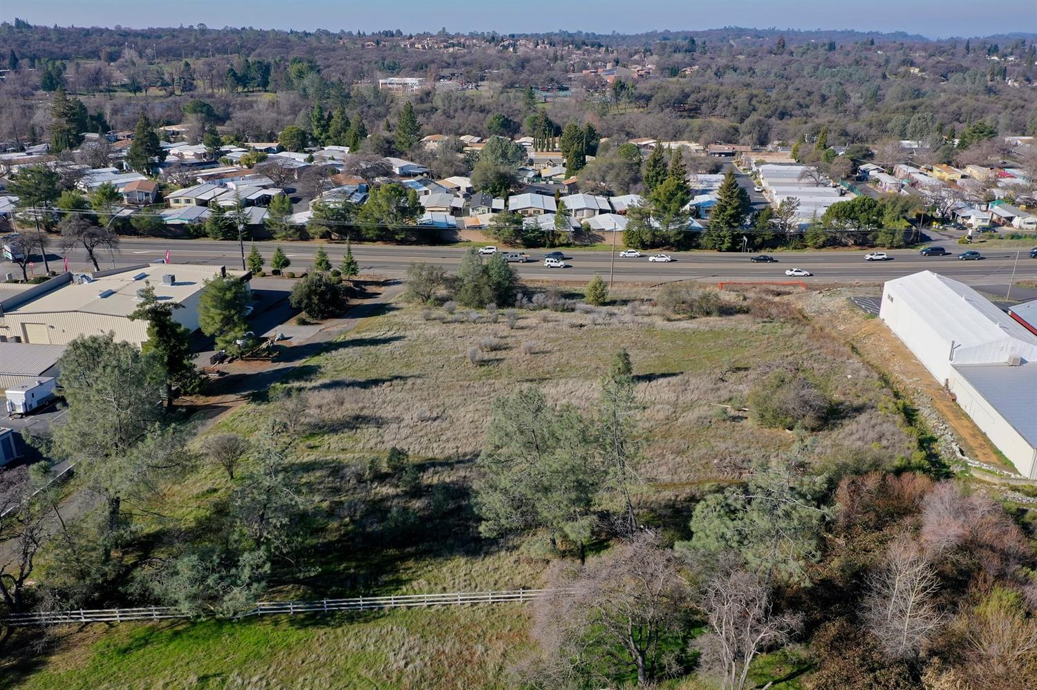 Tremendous opportunity to own commercial acreage with 285 feet of Highway 49 frontage. All 2.8 acres are useable! Capitalize on this unique Auburn property today!  Zoning C3-UP-DC