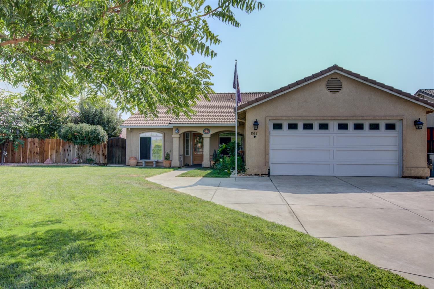 Here's one that's very unique home! Features 4 bedroom, 2 bath with RV parking for that motor home o