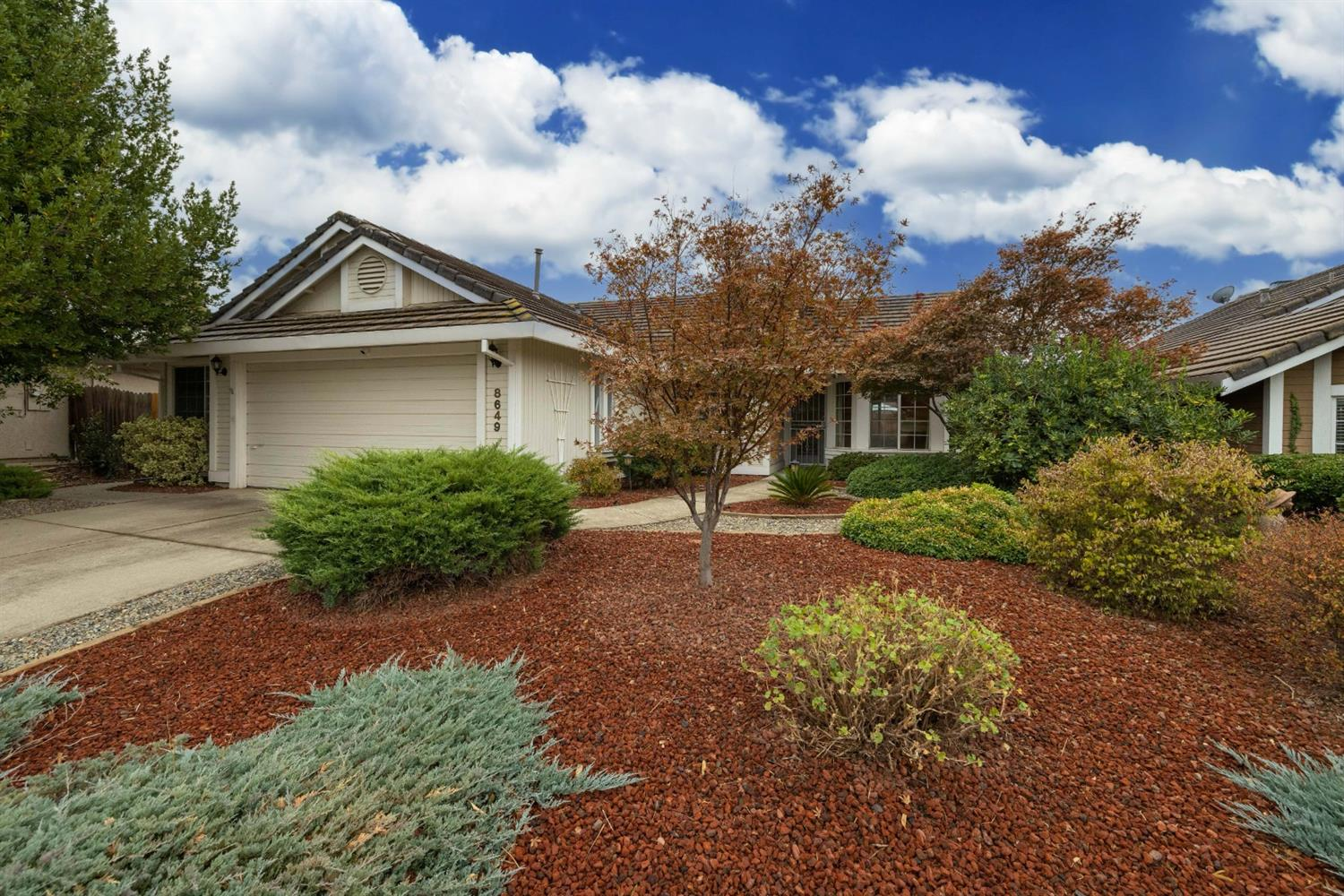 This charming, one-story home is nestled in a desirable Antelope neighborhood and is move-in ready!