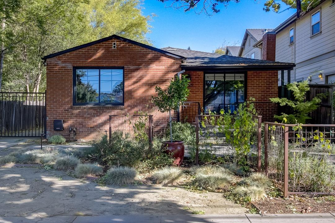 This Sacramento one-story home offers a patio, granite countertops, and a two-car garage.